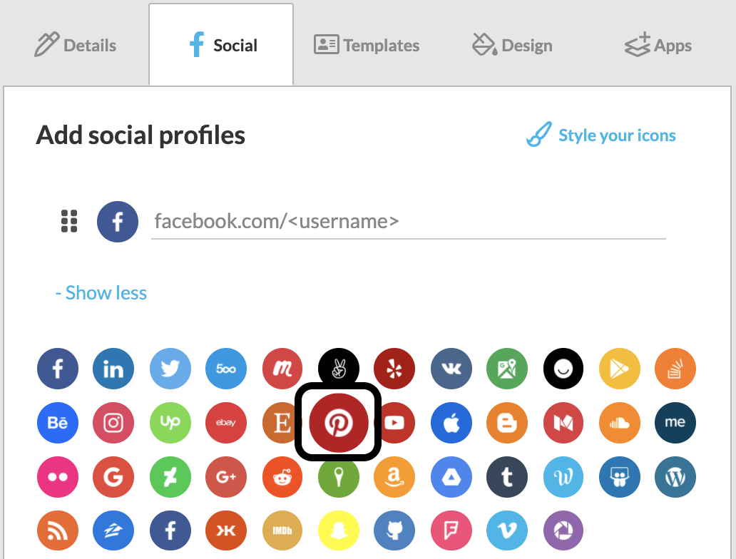 Screenshot_of_the_Social_settings_for_the_WiseStamp_signature_editor_with_a_square_around_the_Pinterest_icon.png